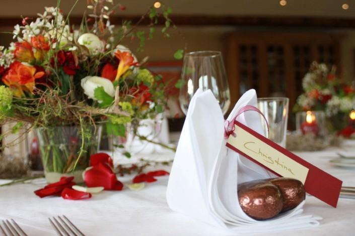 Romantisches Gartenzimmer