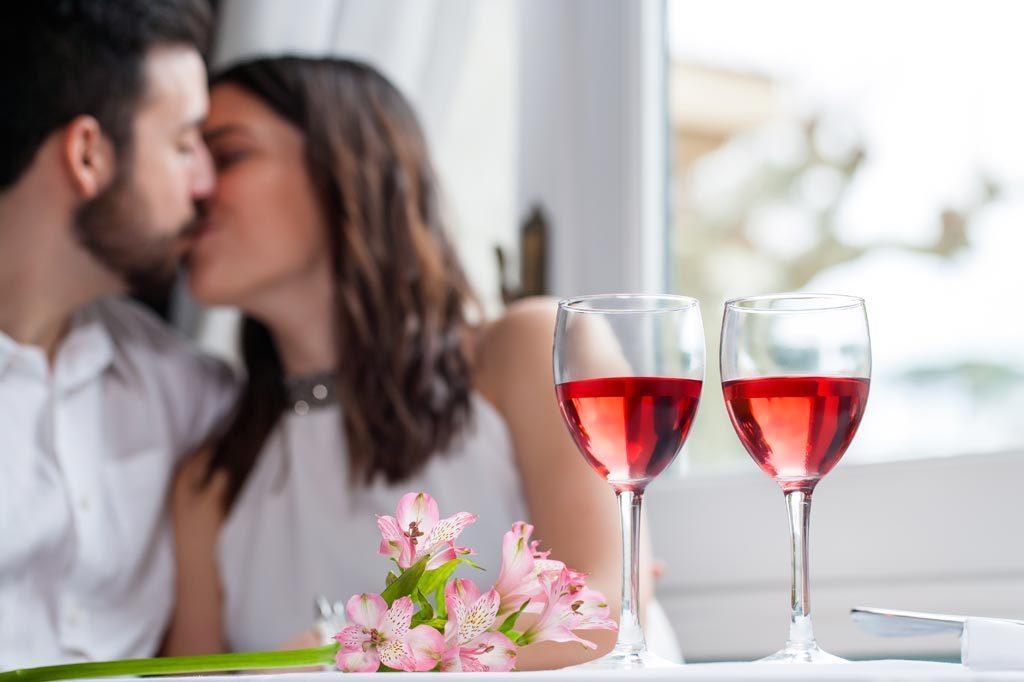Romantisches Menü am Valentinstag