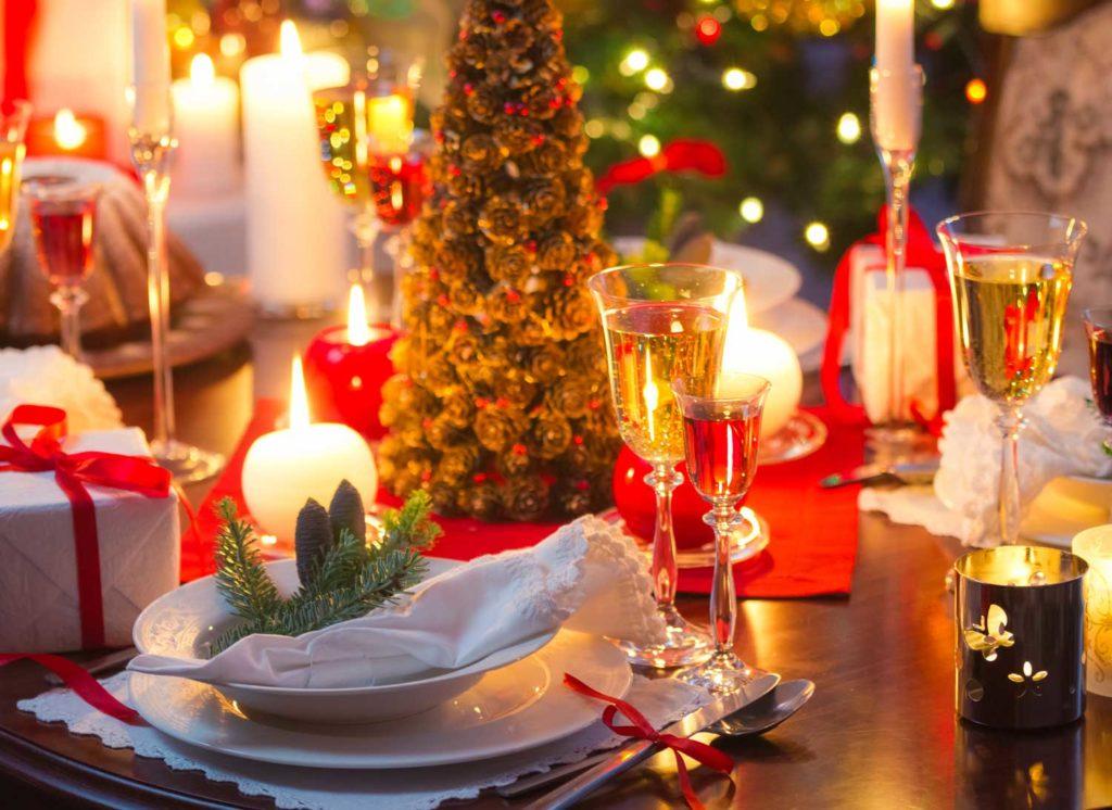 Weihnachtsmenü an den Weihnachtstagen mit Weihnachtsbraten in Hamburg