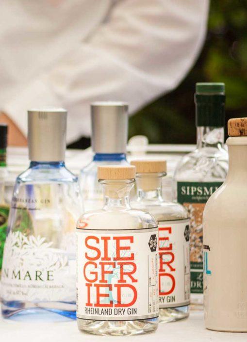 Alkoholische Getränke bei einer Firmenfeier
