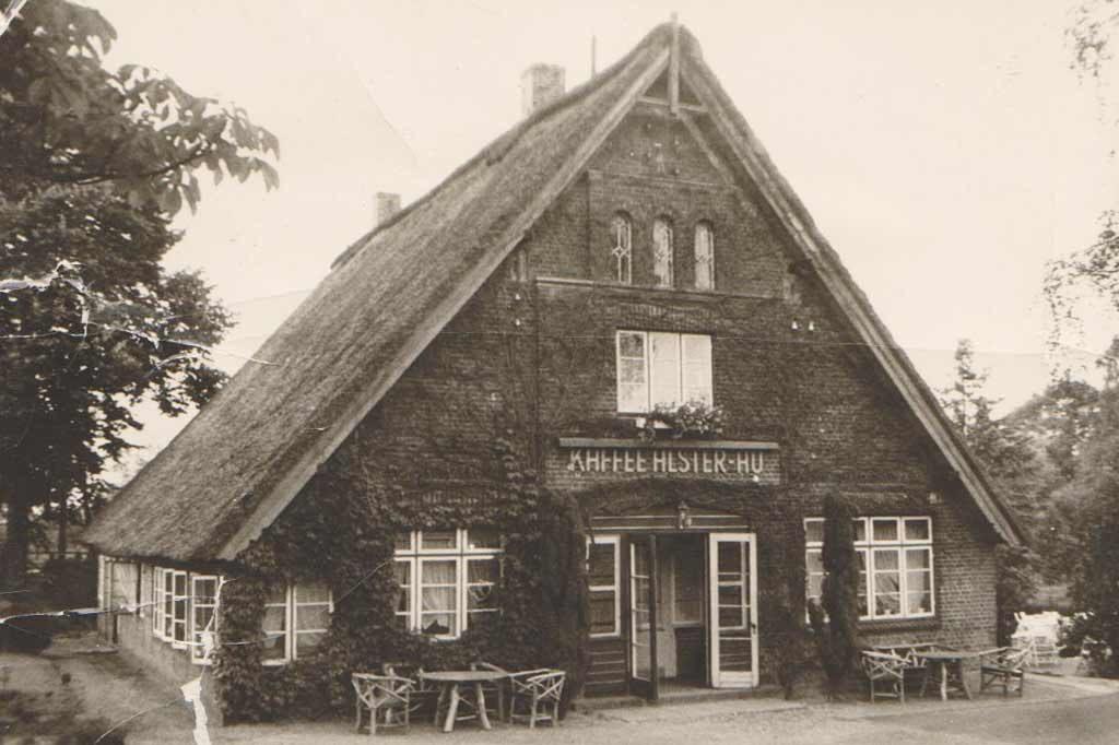 Historisches Foto von der Alster Au